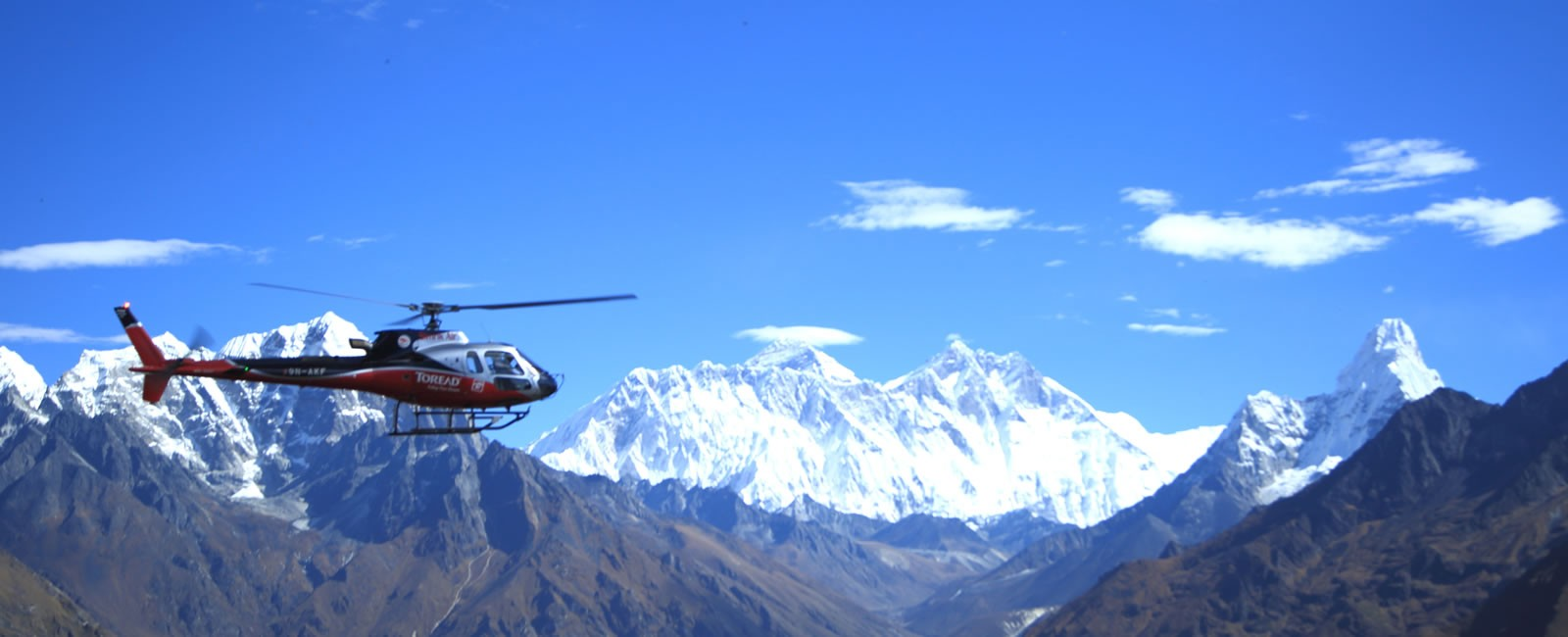 Everest Base Camp Trek and fly back by Helicopter